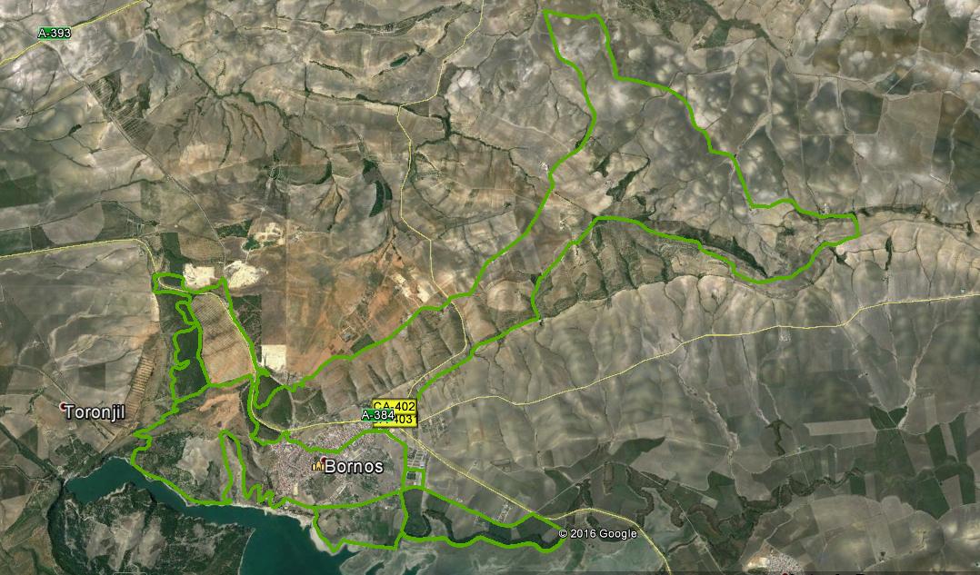 Mapa ruta larga